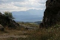 Wyjście z kamieniołomu na górze Wdżar