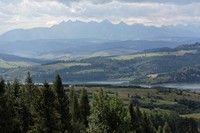 Tatry widziane z góry Wdżar