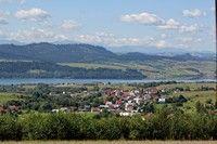 Mizerna i Jezioro Czorsztyńskie
